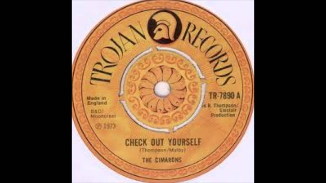 The Cimarons Check Out Yourself Trojan Records 1973
