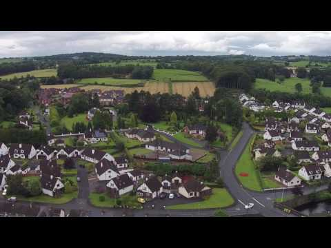 Broughshane Ballymena From The Air