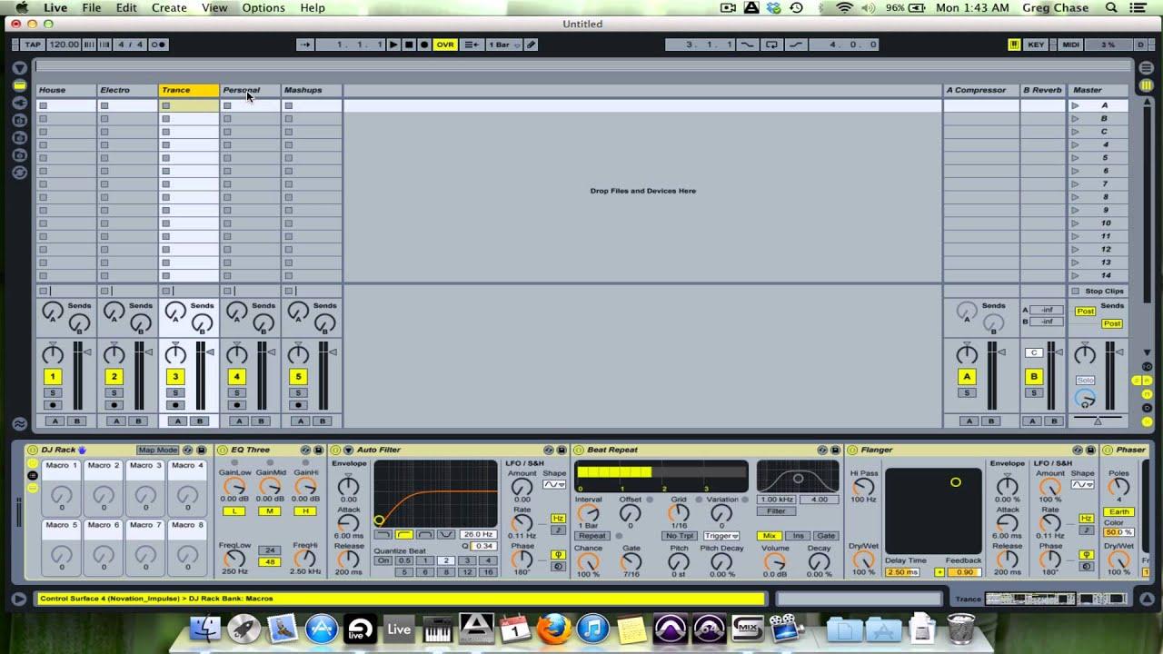 Ableton Tips & Tricks #9- The DJ Template - YouTube
