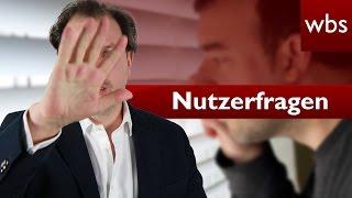 Nutzerfragen: Nackte Nachbarn auf dem Balkon | Rechtsanwalt Christian Solmecke