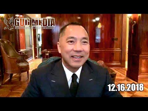 2018年12月16日:郭文贵回答战友之声的问题,聊天,怎么看待习江斗。