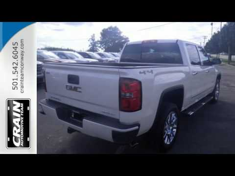 2015 gmc sierra 1500 conway ar little rock ar 5gt6818 sold youtube. Black Bedroom Furniture Sets. Home Design Ideas