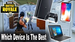 Which Device is The Best To Play With in Fortnite Battle Royale? FORTNITE MOBILE CODES GIVEAWAY!