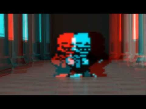 Undertale - stereoscopic 3D test