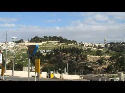 View of Mount of Olives and Mount Scopus. Jerusalem, Israel