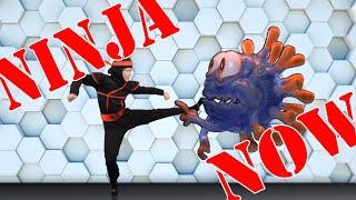 Ninja Now Workout (Defeat The Virus)