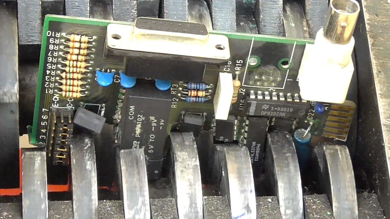 Electronics Shredder 38