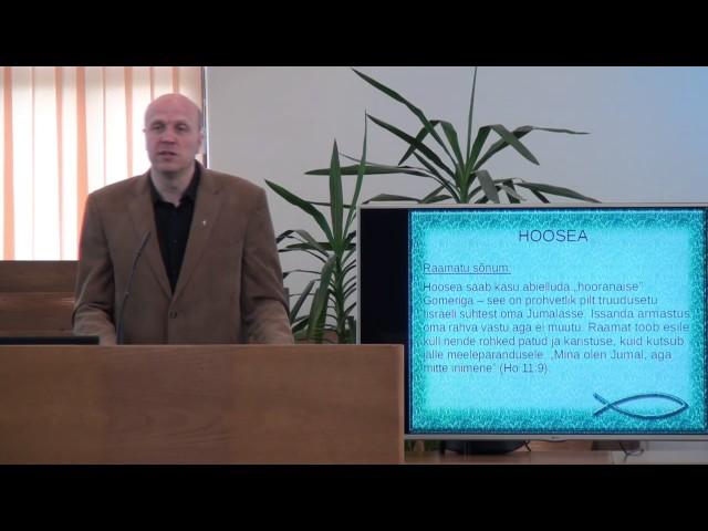 1. loeng – Hoosea raamat