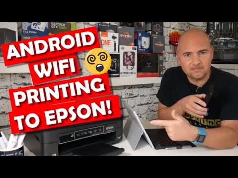 How To Print To Epson Wifi Enabled Printers From Android Devices