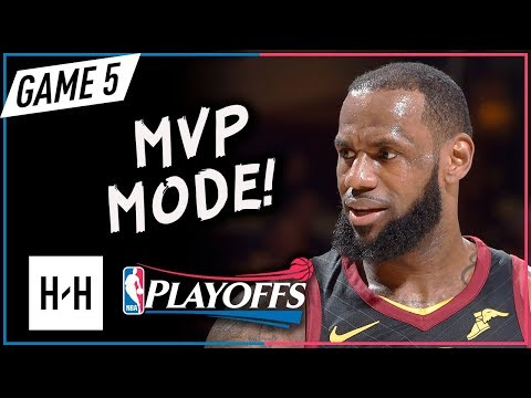LeBron James UNREAL Full Game 5 Highlights vs Pacers 2018 Playoffs - 44 Pts, EPIC Game-WINNER!