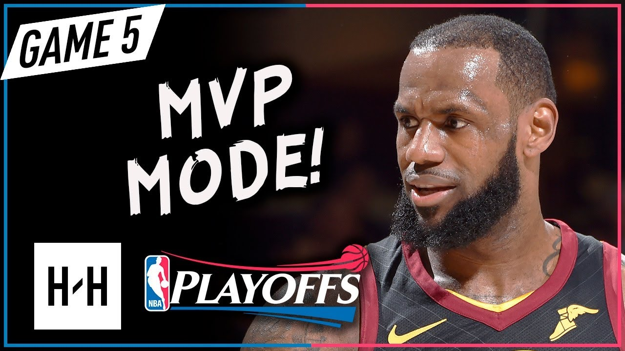 08984a40116 LeBron James UNREAL Full Game 5 Highlights vs Pacers 2018 Playoffs - 44  Pts