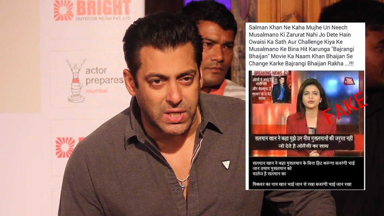 Salman Khan Talk About Fake Religious Post  Filed A -7436