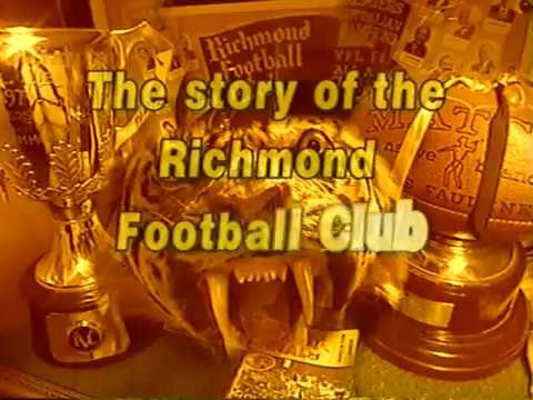 "Richmond FC history - ""Fighting Fury"" 1999 Australian Football Video"
