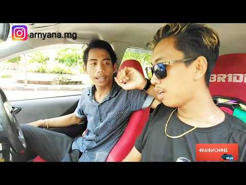 PARODI TEST DRIVE  HONDA JAZZ IDSI 2005 MODIFIKASI + RIVIEW !!
