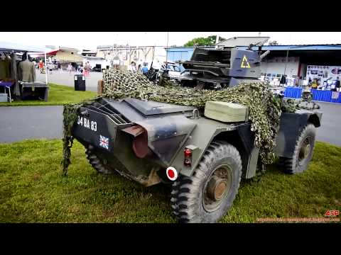 British Ferret Armored Scout Car (Look Around)