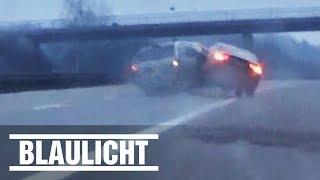 Mit 240 km/h - Autodieb rammt Familienwagen