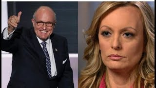 RUDY COMES CLEAN TRUMP'S PAYMENT TO STORMY DANIELS WAS LEGAL!