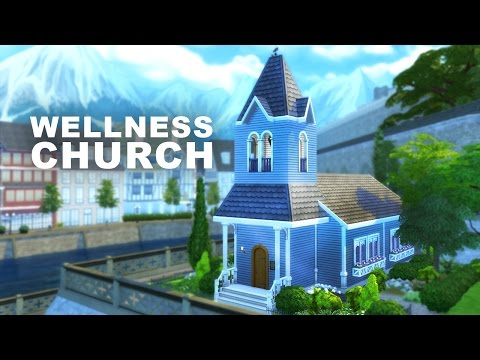 The Sims 4 Build | Wellness Church (community place)