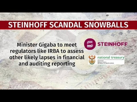 Gigaba supports in-depth probe into SA's biggest corporate scandal