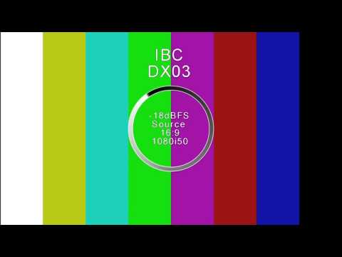 Olympic Broadcasting Services IBC DX03 Test Pattern