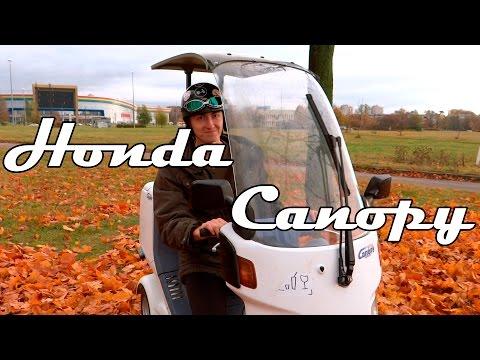 Обзор скутера Honda Canopy - непогода нипочём!