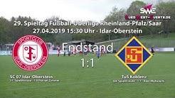 Oberliga RLP/Saar SC 07 Idar-Oberstein gegen TuS Koblenz