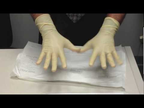 Sterile Gloves - proper technique