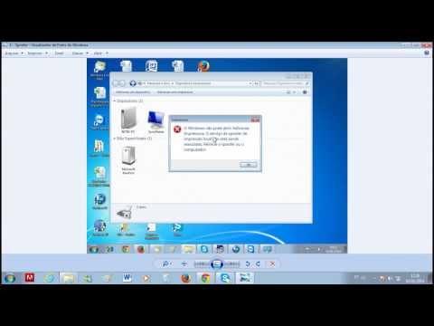 Spooler de Impressão - O windows não pode abrir adicionar