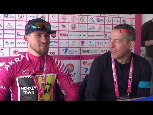 Tour of Antalya'nın Kemer etabını Bas Van Der Kooij kazandı