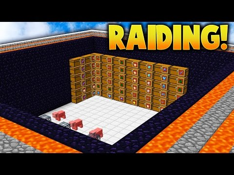 RAIDING A PERSONAL VAULT! | Minecraft FACTIONS #562