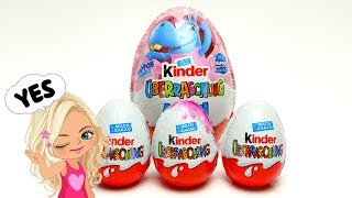 Kinder Maxi Surprise EGG with Maxi Toys for Kids