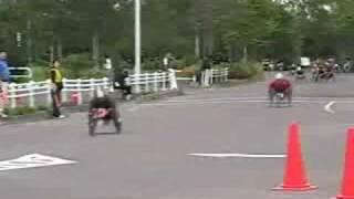 2008年 釧路湿原全国車いすマラソン