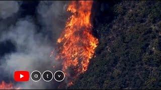 Nem tudják megfékezni a kaliforniai tüzeket