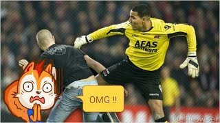 10 Players Vs Fans- Crazy Football Fights - Perkelahian Pemain vs Fans