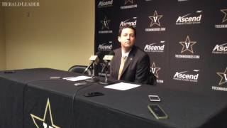 Bryce Drew thought Vandy was in position to win