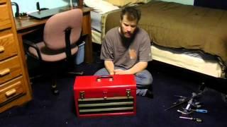 Old Craftmans Tool Box