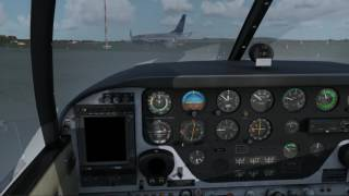 VATSIM UK VFR Pilot Tutorials: Departure and Arrival - Cross country - A2A Comanche