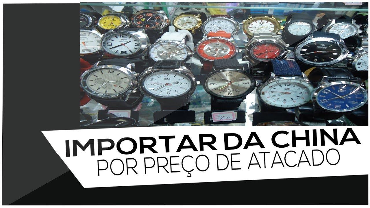 b3b70358f5f Como importar da china - Relógios baratos para revender - YouTube