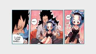 Gajeel x Levy Doujinshi - Happy New Year (gale)