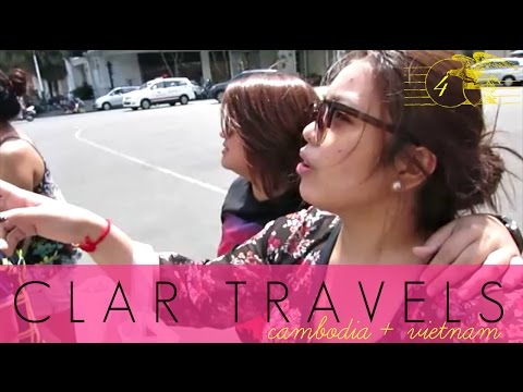 CLAR TRAVELS: Saigon Shopping Spree! - April 24, '15 - clar831 Vlog