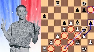 "14-year-old Bobby Fischer vs Dr. Max Euwe | The ""Unpublished"" Game 