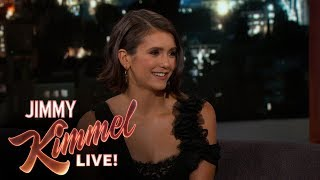 Nina Dobrev on John Stamos, the 80's & Flatliners