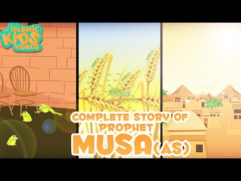 Prophet Stories In English | Story of Prophet Musa (AS) | Stories Of The Prophet