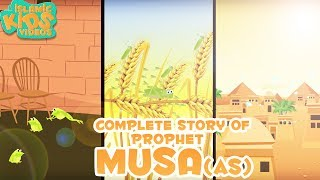 Video Prophet Stories for Kids | Story of Prophet Musa (AS) | Islamic Kids Stories with Subtitles download MP3, 3GP, MP4, WEBM, AVI, FLV Maret 2018
