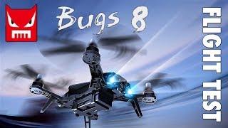 MJX BUGS 8 FLIGHT TEST - line of sight and fpv