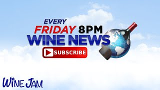 Wine News this Week, News presenter storms off with a bottle of wine!