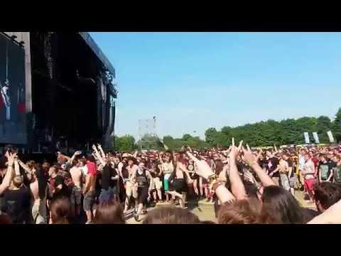 Baby Metal (Rock in Vienna 2015) - Road of Resistance - Circle Pit
