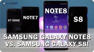 Samsung Galaxy Note8: Velký pracant s perem, které funguje i pod vodou! - AlzaTech #623