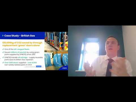 Tom Rumboll - SYNETIQ  'The Big Principles Of Sustainability For Our Industry' Jan 2021