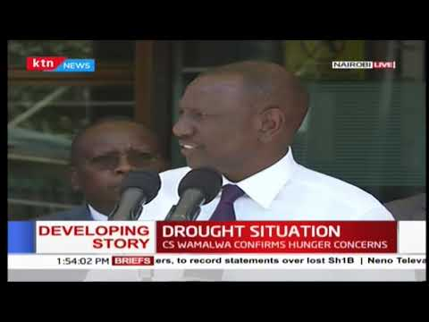 DP Ruto says money has been approved by government for necessary interventions on drought